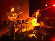 """""""Apéro spectacle"""" - Duo Solamento - Pascal Americana - Peyrolles - 24 octobre 2014"""