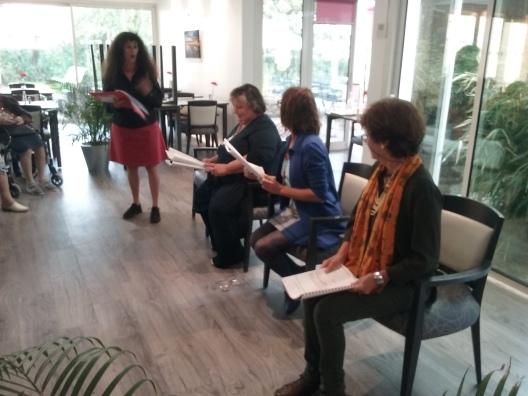 Balade en Afrique - lecture à la résidence du parc - Gréasque